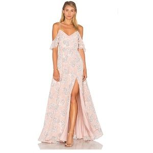 Lovers + Friends Taylor Gown in Floral